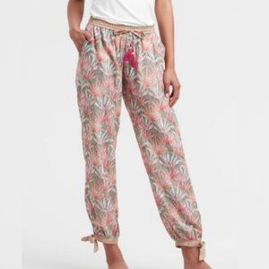 World Market Floral Palm Amandine Pajama Pants